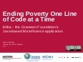 Mifos: Ending Poverty One Line of Code at a Time (Jazoon 2010)