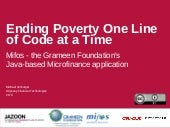 Mifos: Ending Poverty One Line of C...