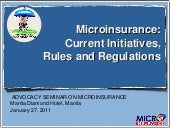 Microinsurance Initiatives Powerpoi...