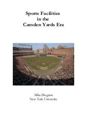 Sports Facilities in the Camden Yar...