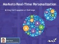 Marketo Real-Time Personalization: Solving the Engagement Challenge - Mike Telem