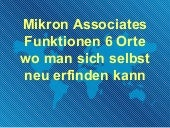 Mikron associates funktionen 6 orte...