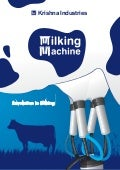 Manufacturer and Exporter of Milking Machine from India