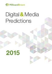 Digital and Media Predictions for 2015