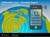 Millward Brown AdReaction Canada: M...