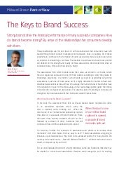 Millward brown pov_keystobrandsuccess