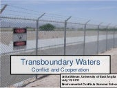 Conflict and Transboundary Water Is...