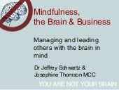 Mindfulness, the Brain and Business...