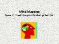 Mind mapping how to maximize your brain's potential