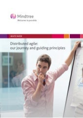 Mindtree distributed agile journey ...