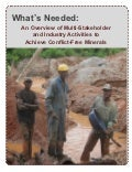What's Needed: An Overview of Multi-Stakeholder and Industry Activities To Achieve Conflict-Free Minerals