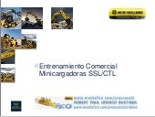 Minicargador New holland - Presenta...