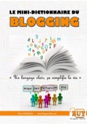 Mini dictionnaire du blogging