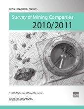 Fraser Institute Annual Survey of M...