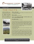 Rosemont Copper - Mining Claims - Fact Sheet