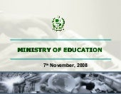 Pakistan Education Plan