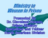 Ministry to women in prison
