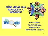 Mini Webquest