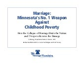 Marriage: Minnesota's No. 1 Weapon ...