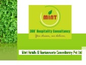 Mint Hotels & Restaurants Consultancy