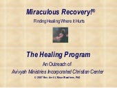 Miraculous Recovery! The Program