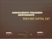 Miramar capital eafi 2012