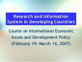 Misra,D.C.(2007) Evolution Of E Gov...