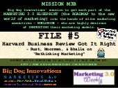 [MISSION M3B: FILE #5] Harvard Busi...