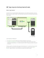 App Inventor : Getting Started Guide
