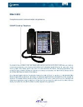 Mitel Telephones & Appliances 2013