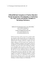Mixed methods technology analysis