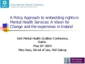 Dr Mary Keys A Policy Approach to E...