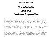 """Social Media and the Business Im..."