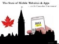 The State of Mobile in the Canadian Government (2012)