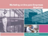 Marketing on line para Empresas Alo...