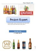 Beer Market Competetion in India