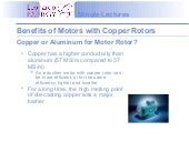 Introduction to Copper Motor Rotor ...