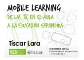 Mobile learning: de las TIC en el a...