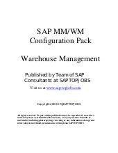 Mm warehouse management-configuration