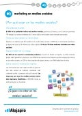 Marketing en medios sociales