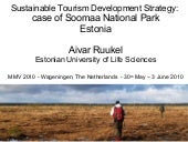 Sustainable Tourism Development Str...