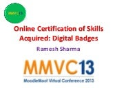 Online Certification of Skill Acqui...