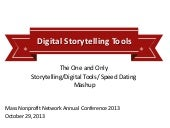 Digital Storytelling Tools for Nonp...