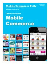 Mobile Marketer Guide to m-Commerce...