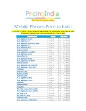 Mobile Phones Price in India - Cell Phone Buying Guide