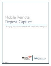 Mobile Remote Deposit Capture: Chan...