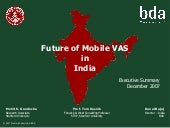 Mobile VAS In India - Exec. Summary
