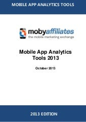 Mobile app analytics directory 2013