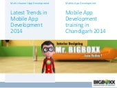 Mobile app development training in chandigarh 2014 : Big Boxx Academy