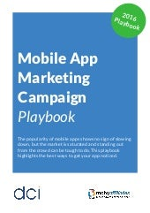 Mobile App Marketing Campaign Playbook